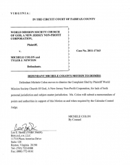 colon-motion-to-dismiss-and-supporting-points-01-30-12-and-2-10-12
