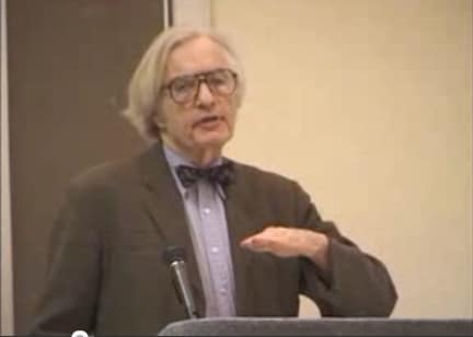 Dr. Robert J. Lifton on Destructive Cults