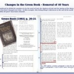 "Changes in the Green Book – Part 2 – Removal of ""40 years"" References"