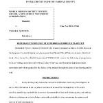 Newton First Set of Interrogatories – WMSCOG vs Colon, Newton VA #2011-17163