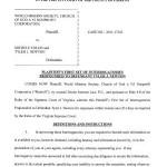WMSCOG First Set of Interrogatories – WMSCOG vs Colon, Newton VA #2011-17163