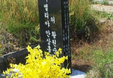 Ahn Sahng-Hong's New Tombstone