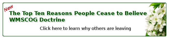 Click here to learn the top ten reasons people leave the WMSCOG
